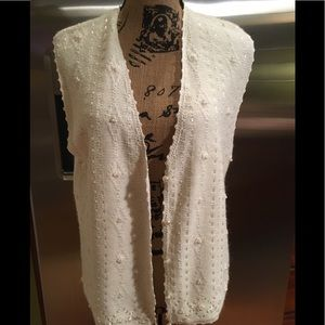 Koret Gorgeous vest Small - Pearls, Ribbons, Lace